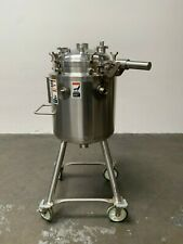 Walker 100 Liter Stainless Steel Jacketed Reactor 45 Psi