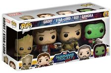 Groot Starlord Ego Gamora Guardians of the Galaxy POP! Marvel 4-Pack Figur Funko