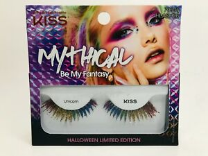 KISS Mythical Be My Fantasy Halloween Limited Edition Rainbow Lashes 79535 NEW