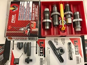 LEE Precision  45 ACP 4 Dies Set + Case conditioning tool set + length gauge