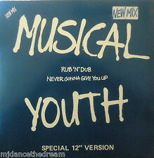 "MUSICAL YOUTH ~ Rub N Dub ~ 12"" Single PS"