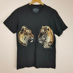 The Mountain T-Shirt Size S Black Tigers