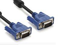 Cable alargador SVGA VGA macho - macho 1.5m metros pantalla ordenador monitor