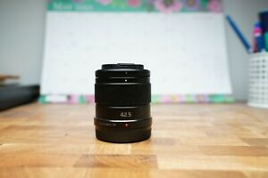 Panasonic lumix G 42.5mm f1.7 ASPH Power OIS lens black for Panasonic Olympus