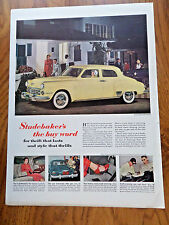 1949 Studebaker Land Cruiser Ad