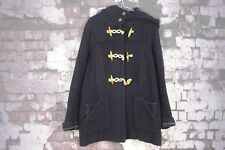 Topshop Navy Blue Duffle Coat Size 10 No.F97 16/1