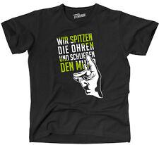 T-Shirt der SCHWEIGEFUCHS Spruch fun  Wilsigns Siviwonder bis 4XL