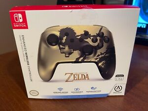 PowerA Enhanced Wireless Controller for Nintendo Switch Legend of Zelda - Gold R