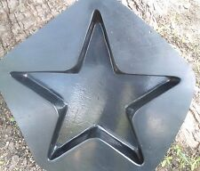 heavy duty star stepping stone  plastic mold see 5000 molds in my ebay store now