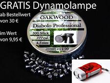 OAKWOOD PROFESSIONAL DIABOLOS -LUFTGEWEHR -4,49MM- STAFFELPREIS-MADE IN GERMANY
