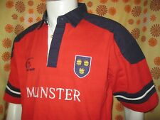 Ancien MAILLOT LIVE FOR RUGBY LFR MUNSTER TXL IRISH RUGBY UNION Jersey Maglia
