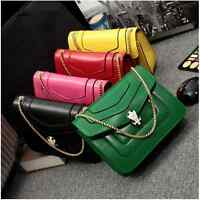New Fashion Womens Faux Leather small shoulder bags shell bags purses chain bag