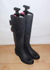 NEW Clarks womens ORINOCO TANGO black leather knee length boots - various sizes