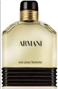 ARMANI EAU POUR HOMME EauDeToilette 50 ml splash Vintage 💯%Originale &Autenthic