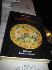 Mayólica Popolare Campana Guido Donatone ex gran libro de tapa dura