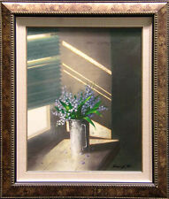 "Michael Gorban ""Sunlight & Lilac"" Giclee on Canvas Hand Signed Make an Offer!"