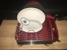 USED KitchenAid Dish Rack, Kitchen Aid Dishrack, Dish drainer with Tray & Holder