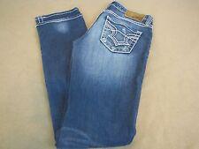 Big Star Sweet Straight jeans, Ultra Low, Women's 27L / 32, distressed