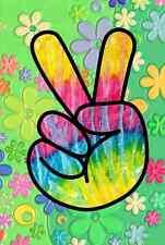 Gran hombre de paz Hippy Hippie prohibir la bomba no bombas 60s libertad FRIDGE MAGNET