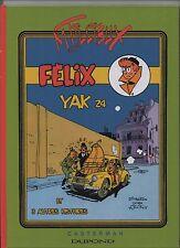 Félix - Yak 24. DIMBERTON et TILLIEUX. Album cartonné hors commerce 2016