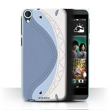STUFF4 Case/Cover for HTC Desire 820s Dual/Animal Stitch Effect/Shark