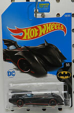 DC CARTOON SUPER HERO BATMAN BATMOBILE 190 5 2017 HW HOT WHEELS