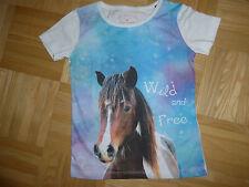 Tom Tailor T-Shirt Mädchen Gr. 92 / 98 Pony - neu
