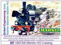 EE 1967/68 E $ GD Marklin HO Catalog 1967 1968 Picture of 3098 P8 Good Condition