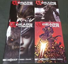GEARS OF WAR 1-4 IDW COMIC RUN SET 1 2 3 4 TOTAL