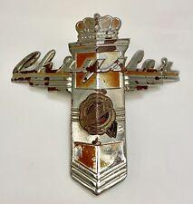 1942 1946 1947 1948 Chrysler Hood Emblem Used
