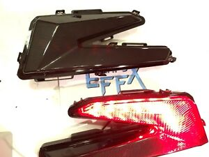 BLACK TAIL LIGHTS  - CAN AM MAVERICK X3 -TURBO X DS RC RS left right pair smoked