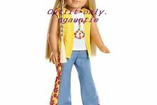 New American Girl Julie 3 Pcs. BeForever Meet OUTFIT Tank Top, Vest & Jeans Only