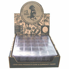 10 Pack 30 Pocket Coin Holder Pages by Lead Dog High Quality Pages