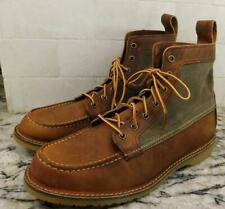 $270 Red Wing x J.Crew Wacouta boots M0637 8.5 leather canvas