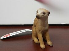 New! Schleich 14362 Meerkat Sitting Figure Retired Collectible With Tag! Ff15
