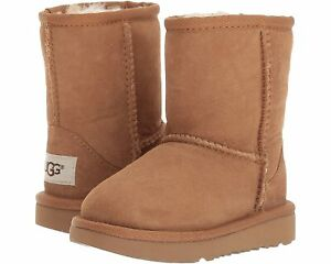 Toddler UGG Classic II Boot Suede 1017703T Chestnut 100% Authentic Brand New