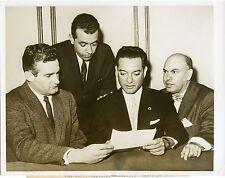 Radio Free Cuba Luis Conte Aguero Delfin Pupo 1960 original press photo