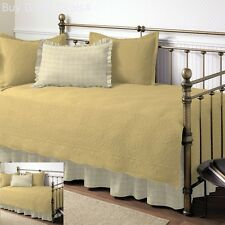Metal Day Bed Frame Bedroom Furniture Bedding Cover Metal Mattress Trundle -Maze
