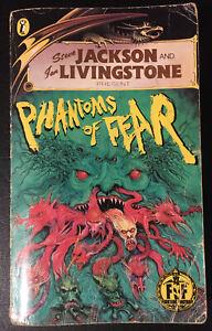 PHANTOMS OF FEAR Fighting Fantasy #28 1987 Bronze Dragon Num Spine Acceptable