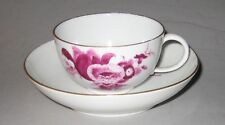 Antique Meissen Cup and Saucer, Circa 1774