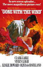 """Gone With The Wind 11x17"""" Movie Poster - Licensed 