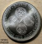 PHILIPPINES 50 Piso 1976 UNC Governors Conference 92.5% Silver FREE SHIPPING US