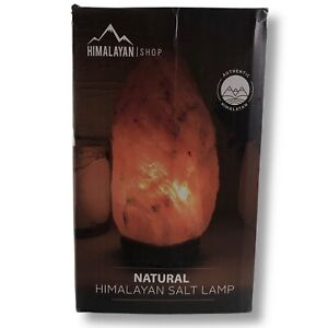 Authentic Natural Himalayan LED Natural Salt Lamp (Heavy) - Negative Ion Remover