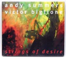 Strings of Desire by Andy Summers / Victor Biglione ~ NEW CD (Oct-1998, RCA)