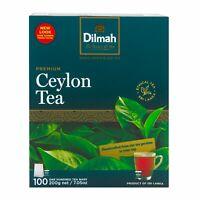 DILMAH PREMIUM PURE CEYLON BOPF BLACK TEA BAGS | 100% NATURAL FINEST CEYLON TEA