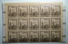 1967   San Marino   Cattedrali gotiche blocco 15 Valori  90 lire   MNH**