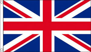 3' x 2' British Union Jack Great Britain United Kingdom UK GB Team Flag Banner