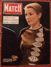 ▬► Paris Match 381 de 1956 Grace Kelly de Monaco_Marilyn Monroe-Tour de France