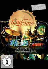 GURU GURU Krautrock Legends Vol. 2 Live At Rockpalast 1976 + 2004 DVD NEW Reg 0