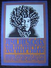 JIMI HENDRIX PINNACLE POSTER 2/10/68 W/ BLUE CHEER SOFT MACHINE VAN HAMERSVELD